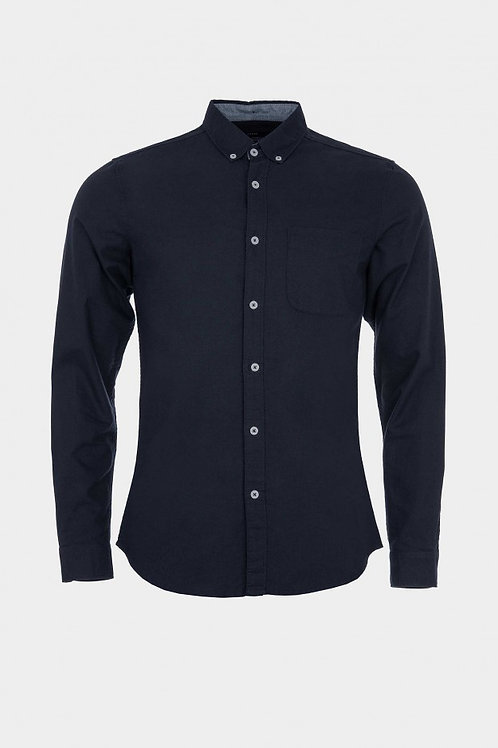 Camisa Tommy azul oscuro