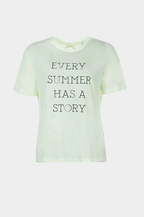 Camiseta DAMASCO verde