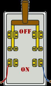 Testando o disjuntor para ver se ele recebe energia