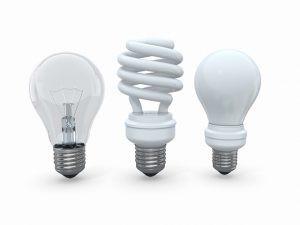 Tipos de lâmpadas e suas diferenças