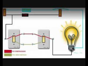 Como fazer instalação elétrica de interruptor duplo