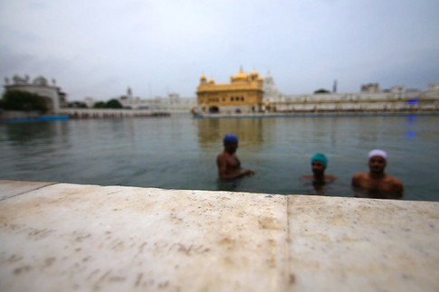 Golden Temple Bath.