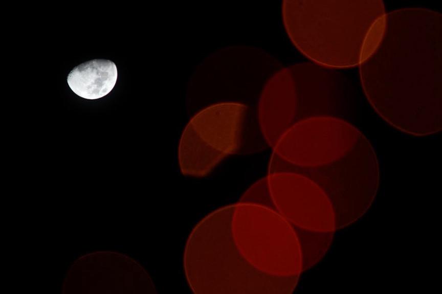 Moonlight Refractions.