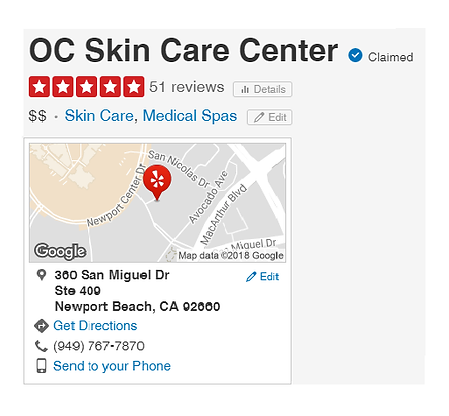 OC Skin Care Center | Guinot Facial Products | Newport Beach in OC