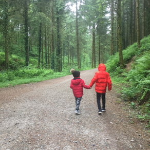 Raising kids is a walk in the park...
