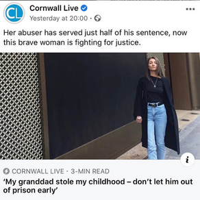 Cornwall Live picks up my story..