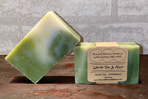 White Tea and Mint Soap