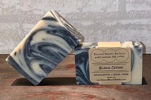 Black Cedar Soap