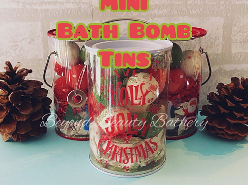 Elf Poop Mini Bath Bomb Tin