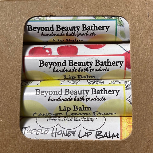 Lip Balm Sampler  4 Pack