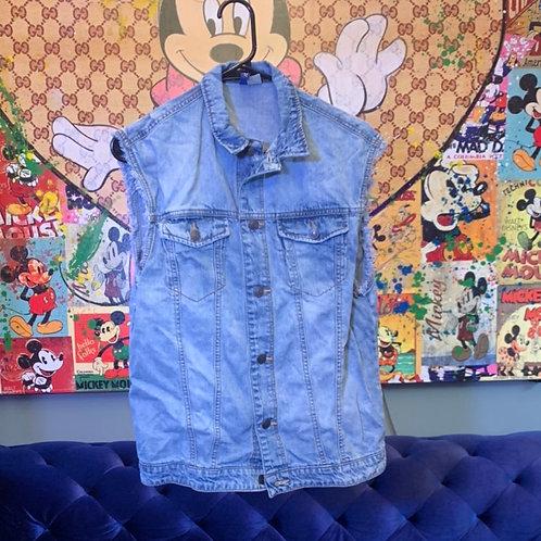 Jean vest Size S