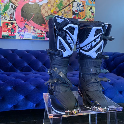Fly Racing boots size 7, 10, and 11 available... very heavy professional racing