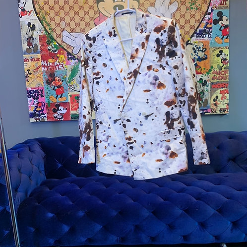 Double Breasted Rocky Road Blazer Size 38 M