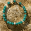 Thumbnail: Armband, Bracelet: Bergkristall Amazonit Silber 925