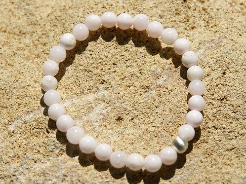 Armband, Bracelet: Mangano Calzit Silber 925