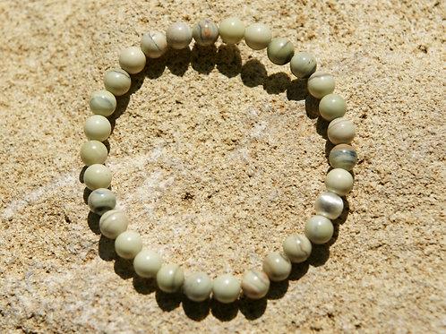 Armband, Bracelet: Serpentin Chytta Silber 925