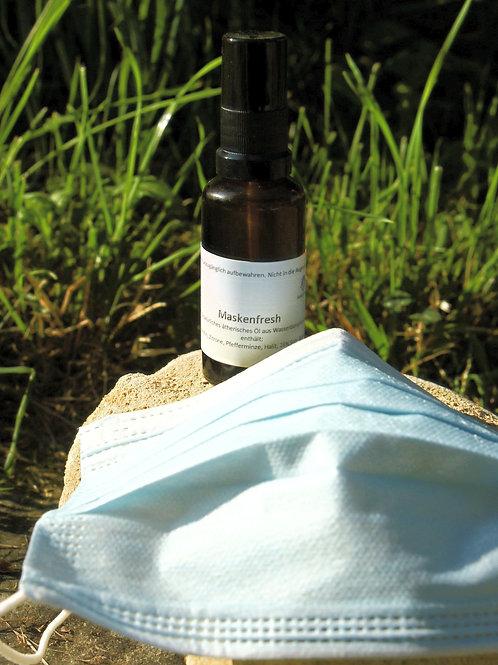 Spray mit Ätherischen Öle Pfefferminze Zitrone Lavendel