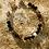 Thumbnail: Armband, Bracelet: Bergkristall Achat Silber 925