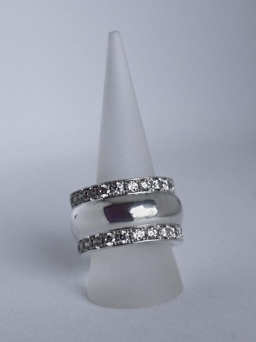Verlobungsring Silber 925 mit Zirkonia