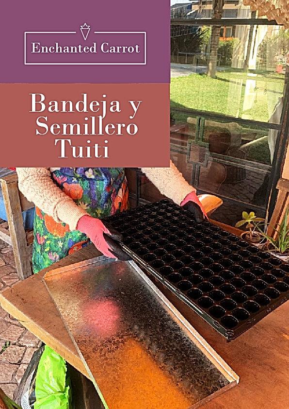 Sistema de siembra doble bandeja Tuiti