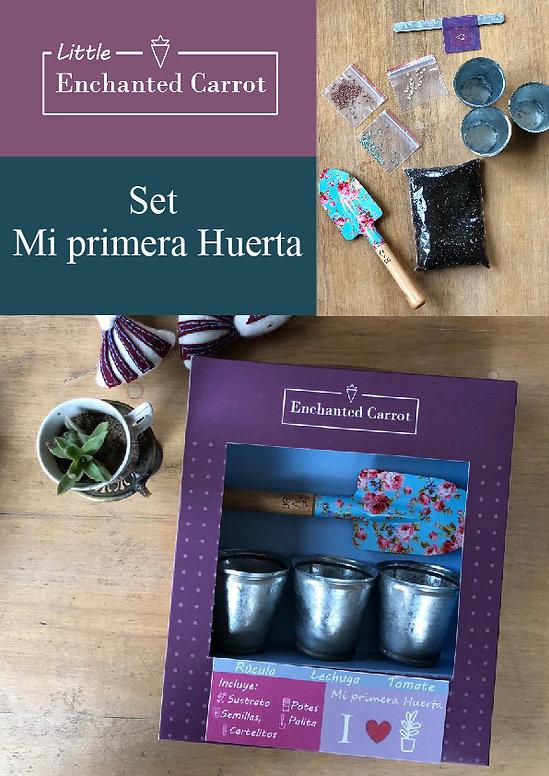 Set Mi primera Huerta