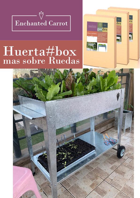Huerta Box Mas sobre ruedas