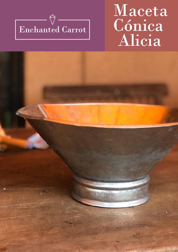 Maceta Conica Alicia