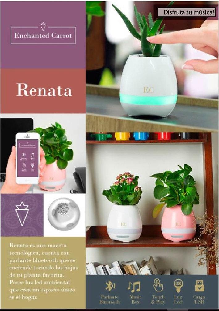 Maceta parlante Renata