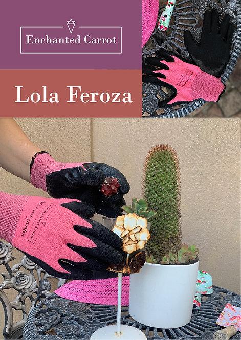 Guantes Jardinería Lola Feroza