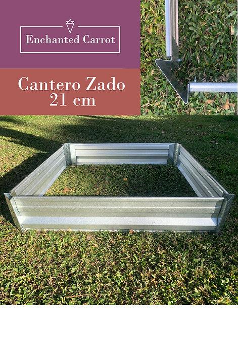 Cajón Cantero Huerta Galvanizado Zado 21 cm