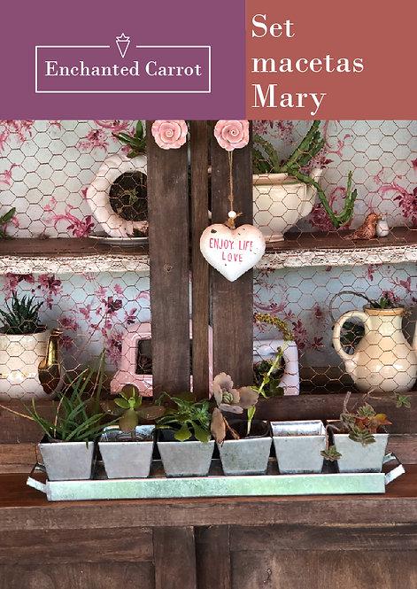 Set macetas Mary
