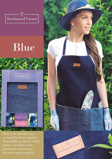 Delantal Jardinería Blue