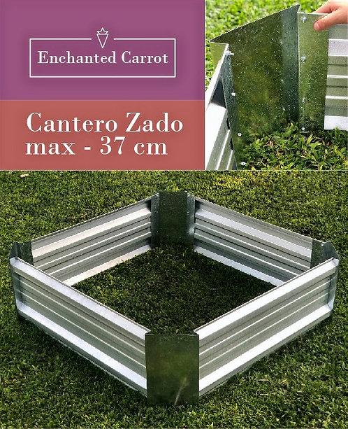 Cajón Cantero Huerta Galvanizado ZadoMax 37 cm