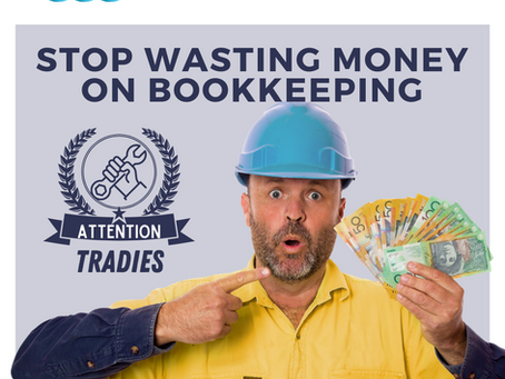 Stop Wasting Money on Bookkeeping