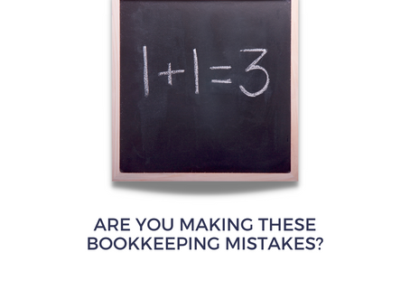 Are You Making These Bookkeeping Mistakes?
