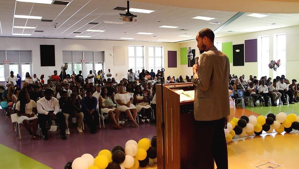 Promotional Speaker: Nichols Elem/Mid School 8th Grade Promotional