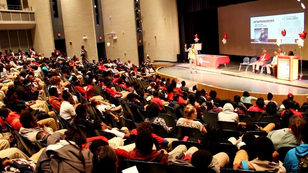 Keynote Speaker- College Signing Day- Detroit Collegiate Prep