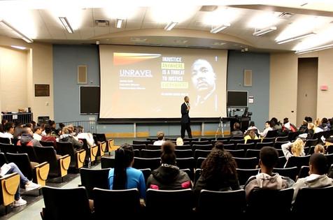 Keynote Speaker: University of Michigan- Ann Arbor- MLK Day
