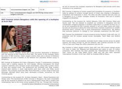 Press Release coverage Bengaluru