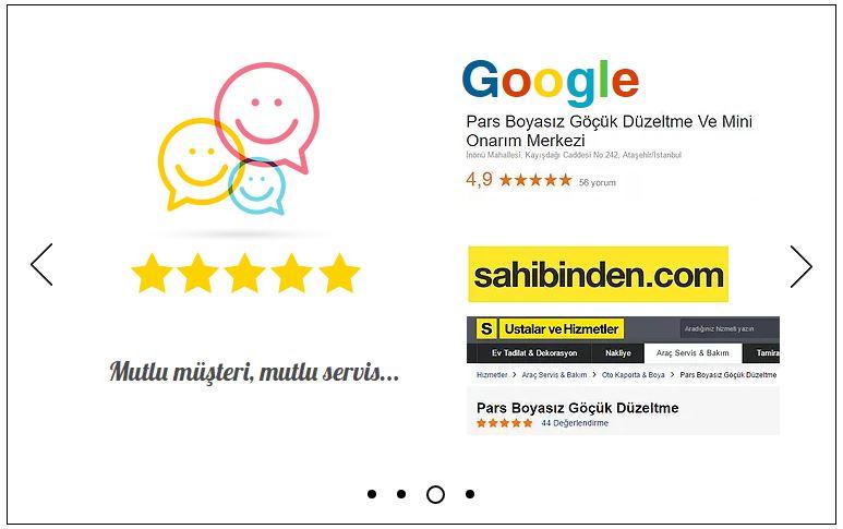 Pars mutlu müşteri mutlu servis