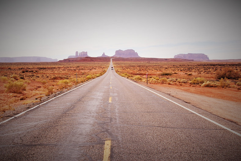 Forrest Gump Point near Monument valley