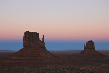 Sunset @monument valley