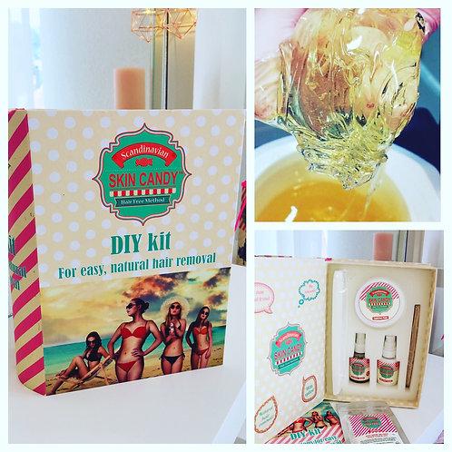 DIY Kit - Skin Candy Enthaarung für Zuhause
