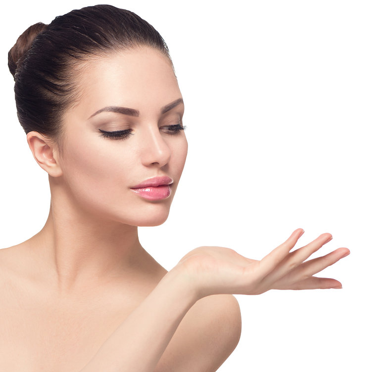 Beauty Spa Woman with perfect face skin