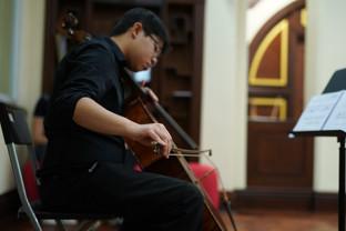 大提琴:左啟希 Cello: Chor Kai Hei