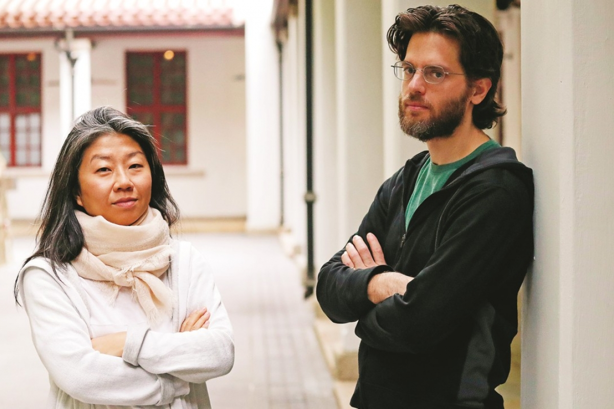 Playwright Candace Chong and composer Eli Marshall. Photo: K.Y. Cheng