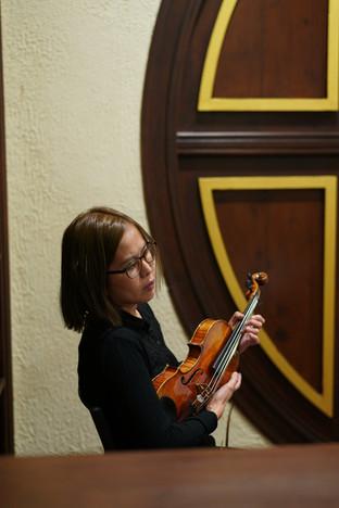 小提琴:張文蕊 Violin: Kitty Cheung