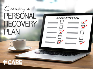 Creating A Personal Recovery Plan