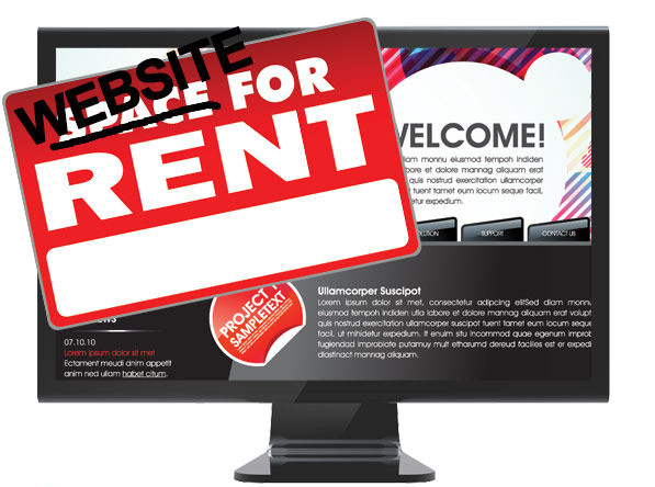 owning or renting a website