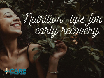 Nutrition For Addiction Recovery